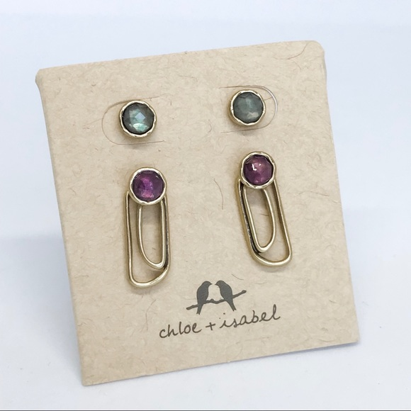 Chloe + Isabel Jewelry - 💌 Aurora Convertible Jacket Earrings